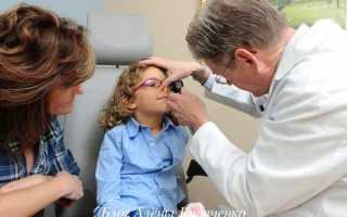 Болячка под носом у ребенка