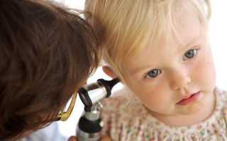 Уха болезни у детей
