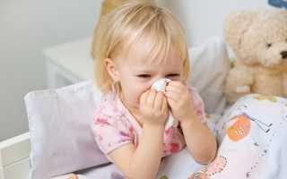 Как научить ребенка высмаркивать нос