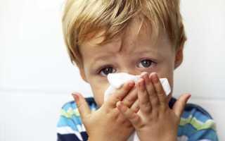 Как избавиться от зеленых соплей у ребенка