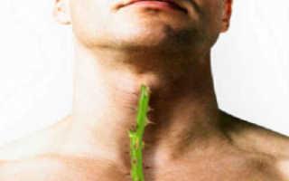 Как лечить миндалины в горле у ребенка