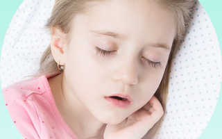 Заложенность и храп носа у ребенка