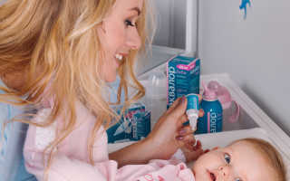 Как промыть нос грудному ребенку
