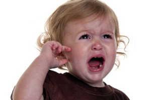 Лекарство от боли в ухе у ребенка