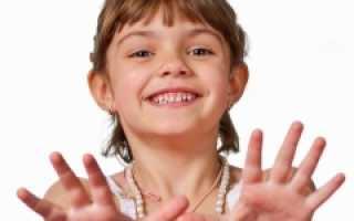 Сыпь на ладошках у ребенка: что делать, как лечить