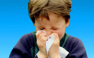 Средство от заложенности носа для детей