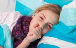 Сильный кашель у ребенка ночью без температуры