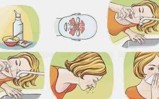 Как сделать физраствор для промывания носа ребенку