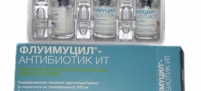 Антибиотик для ингаляций: инструкции по применению