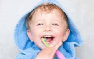 Зубы в 2 года у ребенка