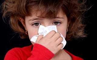 Течет из носа у ребенка