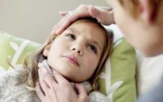 Красное горло и температура у ребенка: как распознать, чем лечить