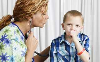 Нервный кашель у ребенка