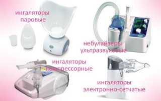При астме ингаляции