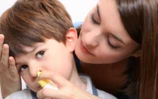 Капли от аденоидов для детей: инструкции по применению