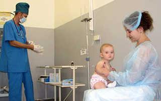 Прививка детям от отита
