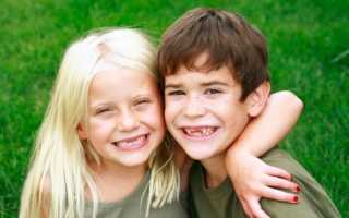В каком возрасте меняются молочные зубы