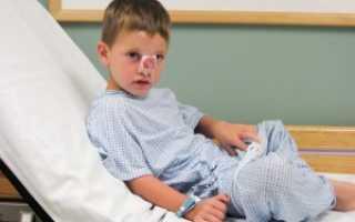 Перелом носа у ребенка симптомы