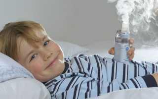 Ингаляции при сухом кашле у ребенка: инструкция по применению