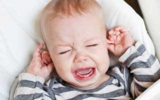 У ребенка чешутся уши