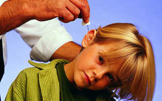 Капли при отите у детей: инструкции по применению