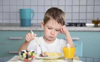 Что можно кушать при ангине ребенку