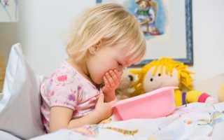 Рвота у ребенка без температуры и поноса желчью