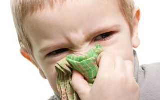 Что капать ребенку в нос при зеленых соплях