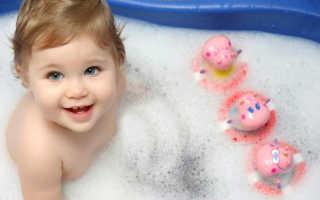 Когда можно купать ребенка после прививки
