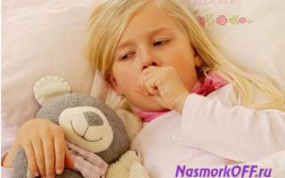 Дыхание со свистом и кашель у ребенка