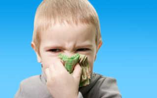 Народные средства от насморка и заложенности носа для детей