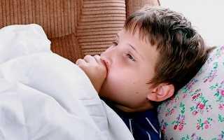У ребенка непрерывный кашель