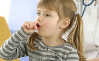 Кашель и хрипы при дыхании у ребенка